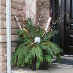 Client Holiday Planter