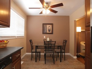 vacant home staging - Dining room