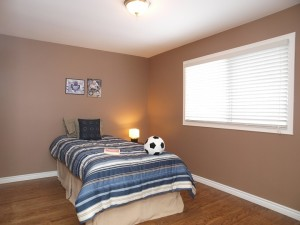 vacant home staging - Bedroom two