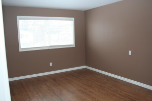 vacant home staging - master before