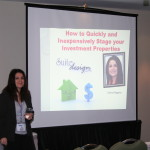 Donna Speaks At the Property Show