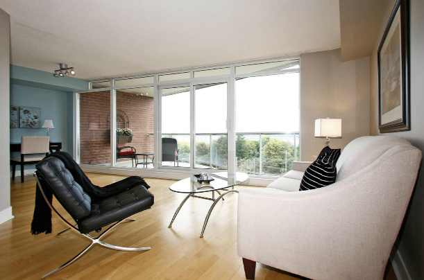 Downtown Toronto Condo Staging Example Suite Design